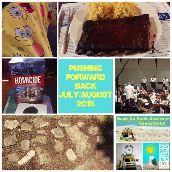 Pushing Forward Back JulyAugust 2018